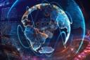future technology globe coding