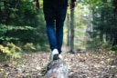 balancing_on_log_walking_in_forrest
